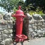 Red Lion water hydrant, Whitwell