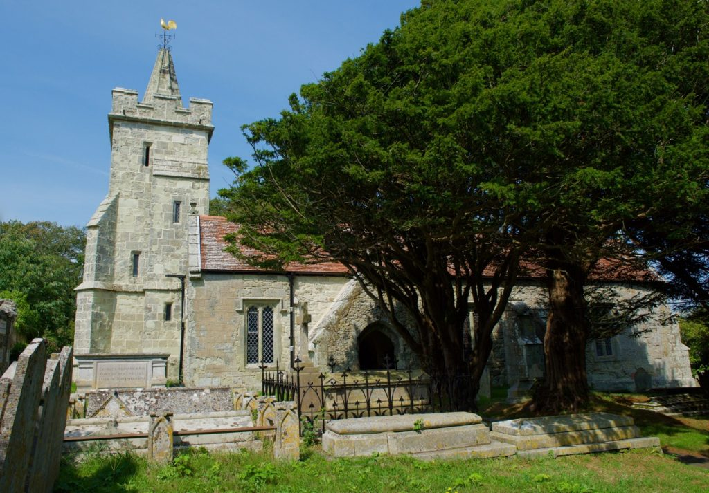 St John the Baptist Church Niton Isle of Wight